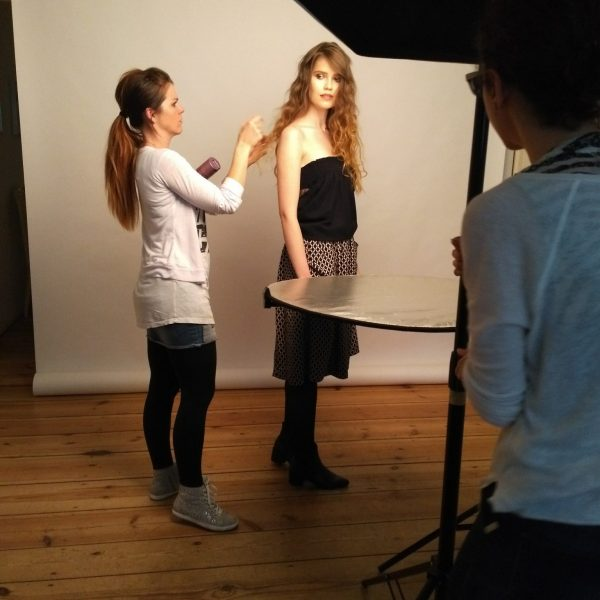 Hair&Make Up Inclover shooting