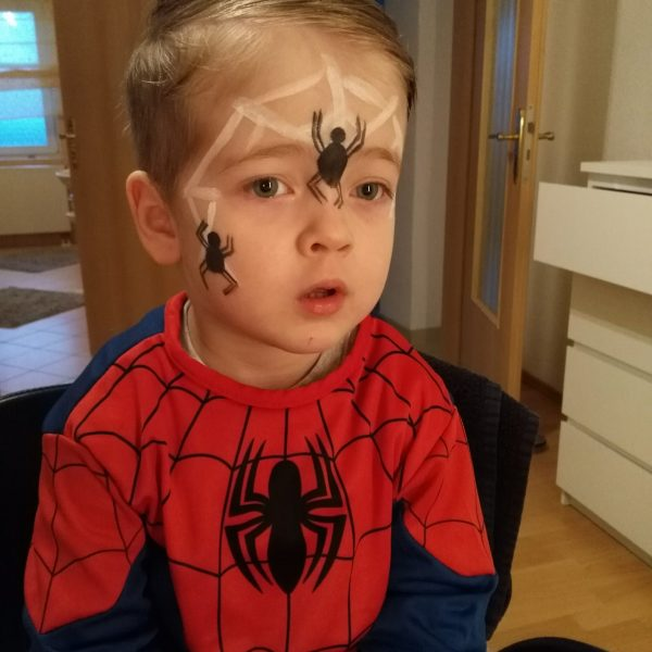 Kinderschminken Spiderman
